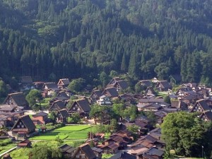 萩町展望台からの眺め